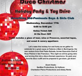 Christmas Disco fattoria e mare FB 2